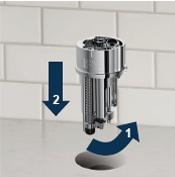 TopMount Installation Step 1