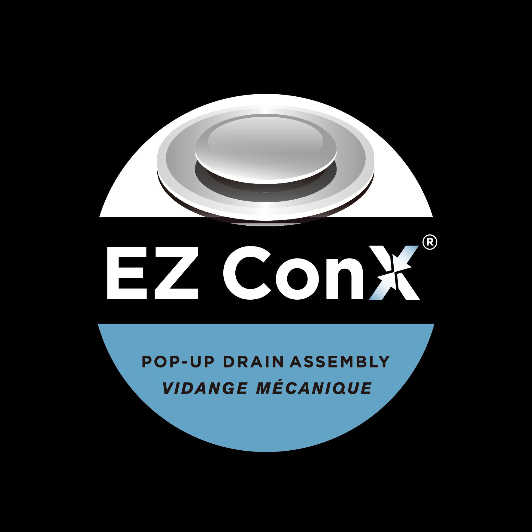 EZ ConX Pop-Up Drain